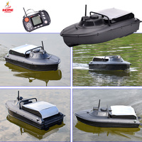 2019 RC Wireless Fishing Bait Boat Wobblers Feeder Bait Thrower Rowing Boat for Fishing Float Black Minnow/Carp Dropshipping