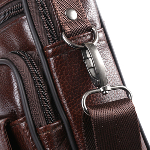 Image 5 - ZZNICK 2017 ใหม่มาถึงของแท้กระเป๋าหนังผู้ชายกระเป๋าสะพายชายกระเป๋า Messenger กระเป๋า Portfolio flap กระเป๋า 8202