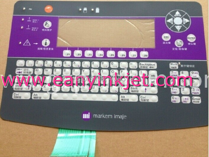 ФОТО Imaje keyboard Imaje 9040 master keyboard display for Imaje 9040 inkjet printer