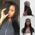 360 Lace Front Human Hair Wig Brazilian Full Lace Human Hair Wigs For Black Women 7A 360 Frontal Wig With Baby Hair 150% Density