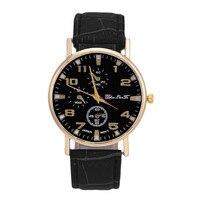 Men S Women Three Eyes Big Brand Watch Winner Wristwatch Man Watches Leather Relogio Masculino Luxury