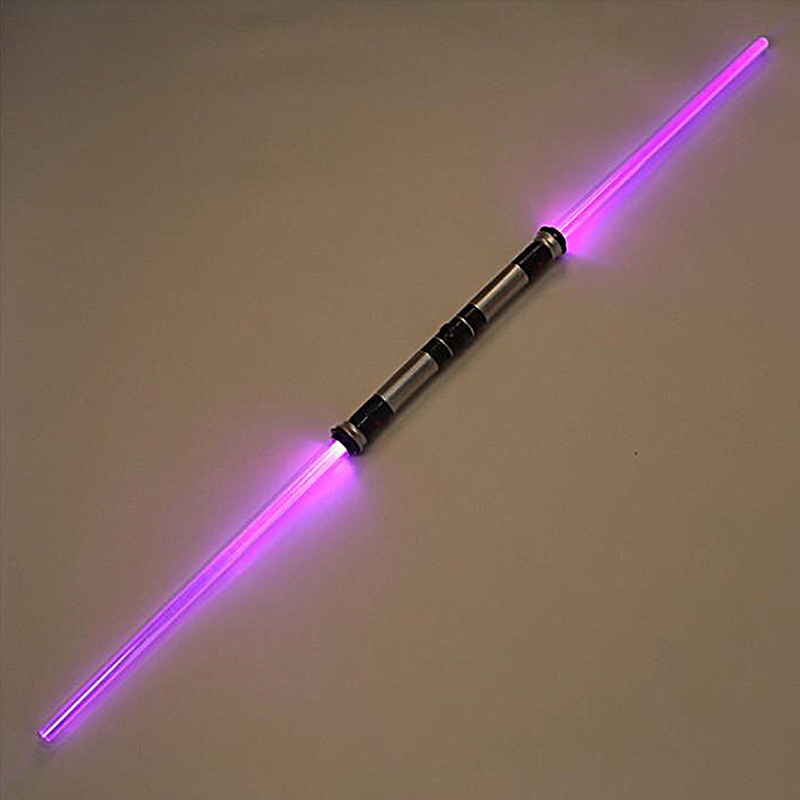 2pcs Lightsaber Boy Gril Toys Flashing Sword Cosplay Funny Star Wars Laser Sword Luminous Music Children Outdoor Creative Gift