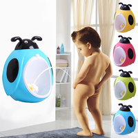 Ladybug Children Potty Toilet Training Kids Urinal For Boys Pee Trainer Bathroom Potties Pee Baby Pinico Urinals
