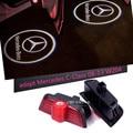 2x Fantasma Sombra de Luz Láser LED Puerta Paso Cortesía Para Mercedes Clase C 08-14 W204