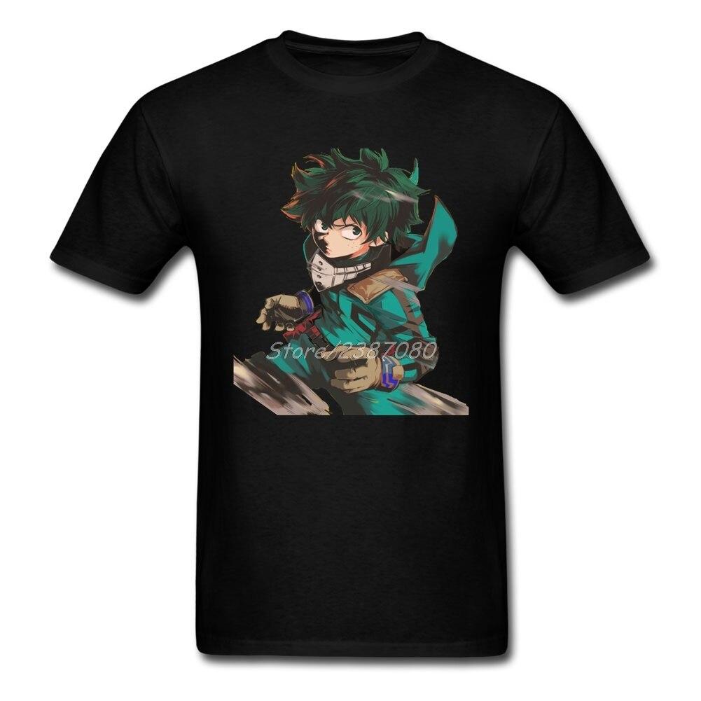 Fashion My Hero Academia T Shirt Harajuku T-shirt Men Cotton 3XL Short Sleeve Custom  T Shirts