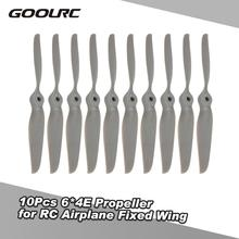 GoolRC 10Pcs for ZD Racing 6*4E Propeller for RC Airplane Fi