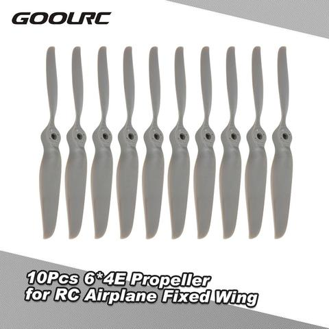 GoolRC 10Pcs for ZD Racing 6*4E Propeller for RC Airplane Fixed Wing Helicopter Propellers RC Toy Model Part Pakistan