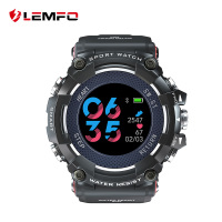 LEMFO MX16 Color Screen Sport Smart Watch 50 ATM Waterproof Men Heart Rate Monitoring 10 Days Long Time Standby Smartwatch