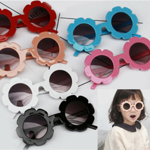 2019 Kids Sunglasses Flower Boys Girls Round Glasses Children Baby Plastic Eyewear Eyeglasses Fahion Childern Toy Fashions