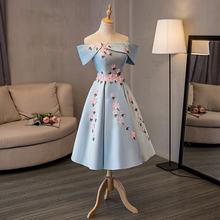 В наличии с открытыми плечами короткий рукав vestido de formatura