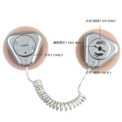Electric shock clitoris stimulator