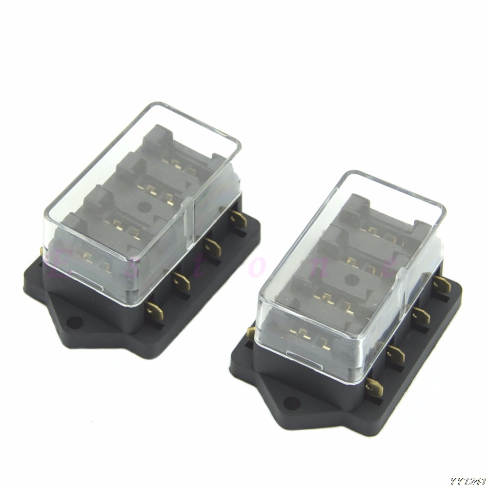 medium resolution of car accessory waterproof vehicle truck boat 6 way blade fuse box holder elegant in fuses from automobiles motorcycles on aliexpress com alibaba group