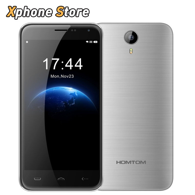 Fast Shipping HOMTOM HT3 8GB+1GB 5.0 inch Android 5.1 MTK6580A Quad Core 1.3GHz Dual SIM 3G WCDMA & GSM Play Store Cell Phone
