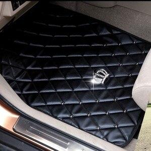Image 3 - Universal Crown ชั้น Mats Anti Slip หนังพรมสำหรับอุปกรณ์ตกแต่งภายในชั้นชุดสำหรับหญิงสีดำ