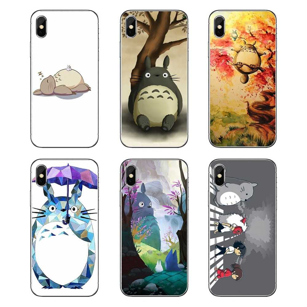 Japanese cartoon Anime My Neighbor Totoro Movie Phone Cover For Huawei Honor 8 8C 8X 9 10 7A 7C Mate 10 20 Lite Pro P Smart Plus
