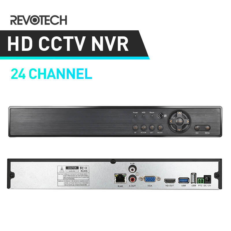 24 Channel NVR HD 1080P H 264 Network Video Recorder HDMI 24 CH CCTV NVR for