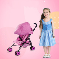 Children's Toy Doll Stroller Play Pretend Toy Children's toy cart girl play house toy trolley Birthday Gifts Brinquedos Juguetes