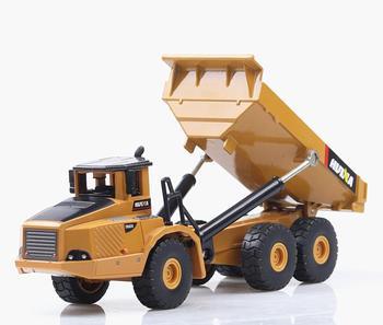 150 aleación articulada juguetes modelo de camión gran imitación vehículo de ingeniería de aleación modelo metal FUNDICIÓN al por mayor