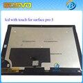 ЖК-дисплей в Сборе с сенсорным экраном дигитайзер панели Для Microsoft Surface Pro 3 (1631) TOM12H20 V1.1 LTL120QL01 003 + Бесплатные инструменты