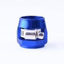 Сплав/Алюминиевый шланг финишер зажим/зажим AN12 JDM/JIC-топливо/масло/радиатор/Резина топливная трубка для воды и масла юбилейный зажим