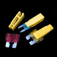 5 piezas de herramientas de Clip de fusible ligero para automóvil, piezas de repuesto para Auto, Extractor, piezas de repuesto para fusible de coche, 1cm cm x 3cm