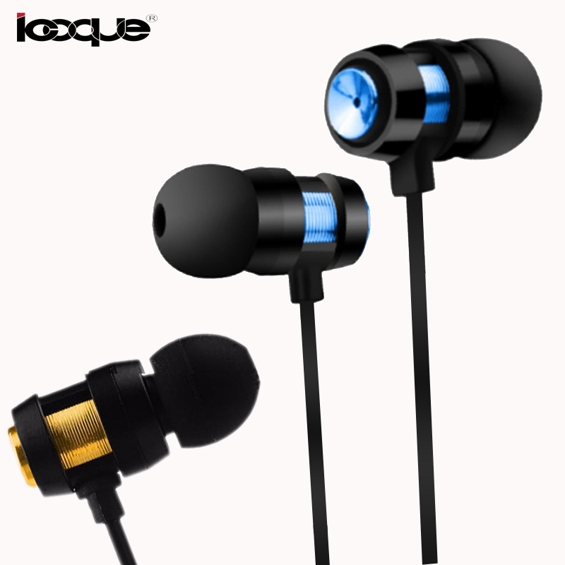 3.5mm Ear Phones Wired In-Ear Earphone Stereo Bass Earphones With Microphone Mic HIFI Earbuds Headset For iPhone Samsung S8 MP3