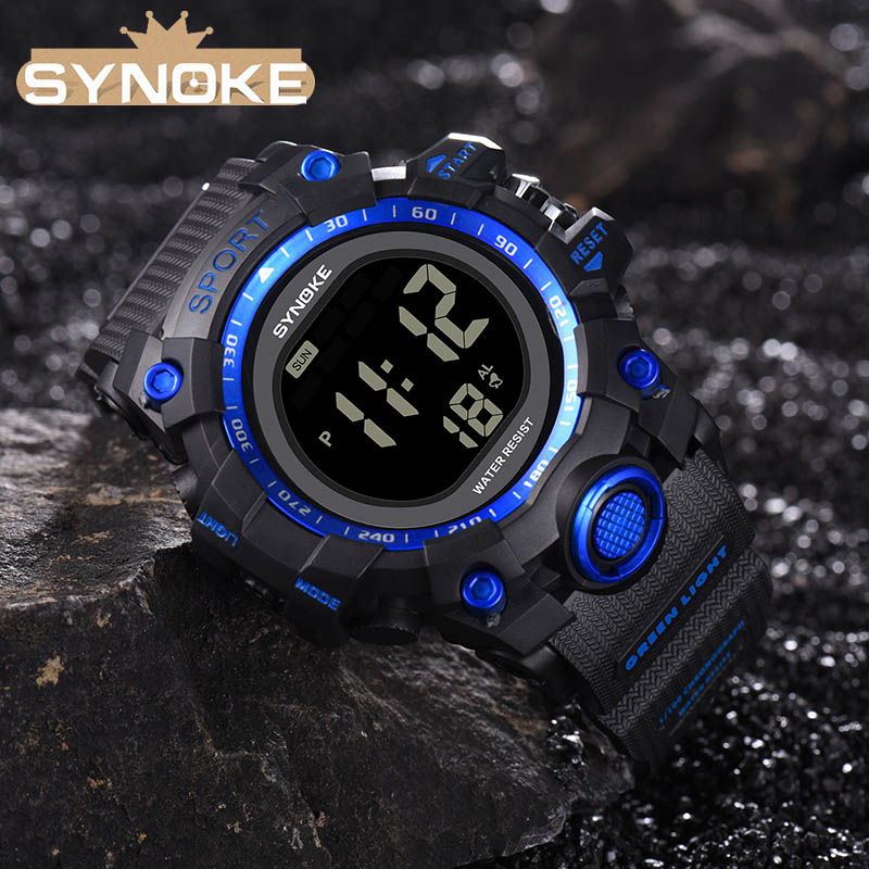 Military Wristwatch Sports Men LED Electronic Watches Fashion Digital Wrist Watches Mens Outdoor Life Waterproof Watch Hot saleMilitary Wristwatch Sports Men LED Electronic Watches Fashion Digital Wrist Watches Mens Outdoor Life Waterproof Watch Hot sale