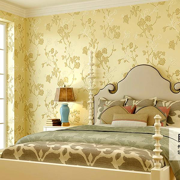 Wallpaper pvc picture more detailed picture about modern for 3d wallpaper for bedroom walls india