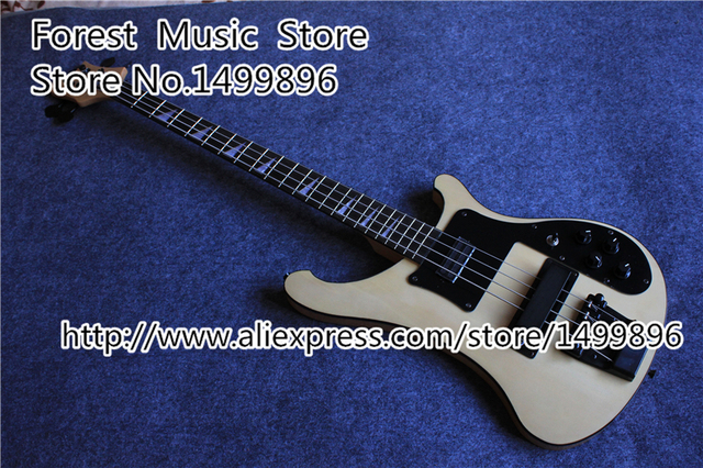 Cheap Hot Selling China Rick R4003 4 String Bass Guitar Electric In Mike Yellow 22 Frets Rosewood Guitars Neck