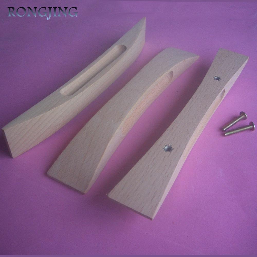 №2x madera gabinete de cocina cajón maneja armario manijas armario ...