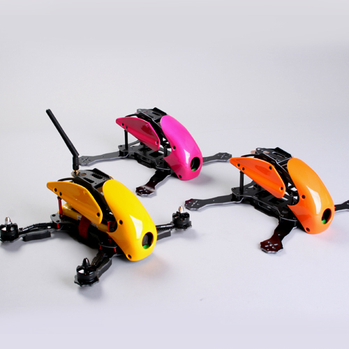 все цены на 100% original DIY FPV race mini drone Alien 270 robocat quadcopter frame kit unassembled carbon fiber/glassfiber 7 colors онлайн