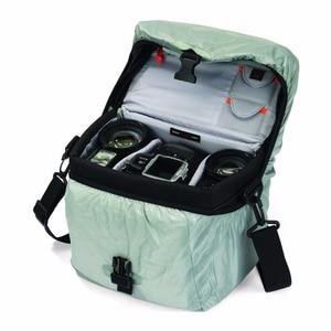 Image 4 - Sıcak satış hakiki Lowepro Nova 200 AW basit omuz çantası kamera çantası kamera çantası almak için kapak