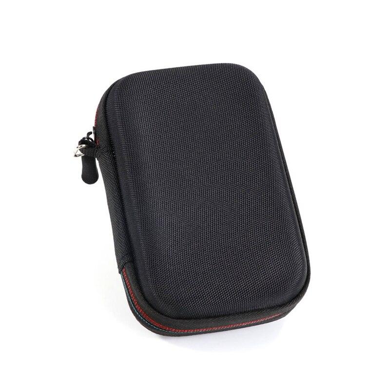 EVA Жесткий Чехол для WD My Passport SSD Портативный для хранения 1 ТБ& 2 ТБ& 256 ГБ и 512 ГБ путешествия защитный чехол-сумка для хранения - Цвет: Black
