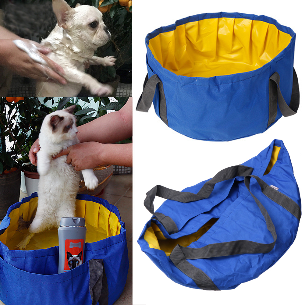 Aliexpress.com : Buy Folding Pet Bath Tub Dog Pool Pet Dog Cat Portable  Swimming Pool Bathing Tub Water Pond Fish Pond PVC + Oxford Baby Bathtub  From ...
