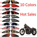 Motorcycle Stickers Motorcycle Decals 3d Emblem Skull Tank Traction Paper Stickers For Harley  All Models