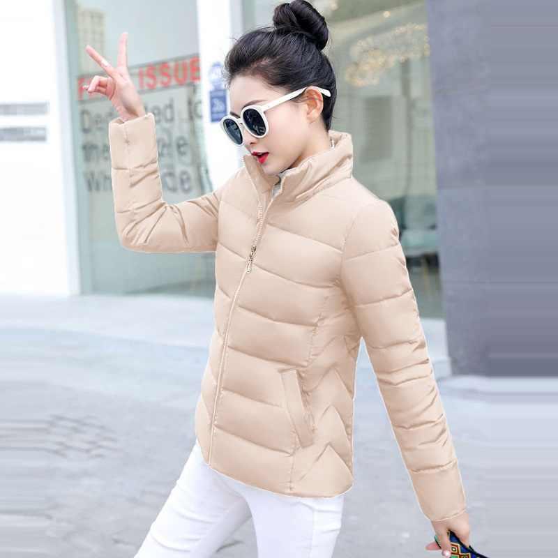 2019 зимняя и весенняя женская куртка короткая пуховая верхняя одежда плюс размер 5XL Женское пальто теплая куртка с хлопковой подкладкой Женское зимнее пуховое пальто