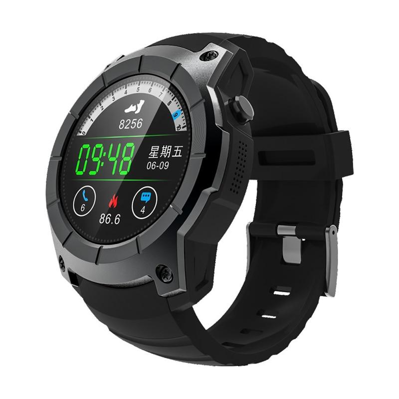 2 Colors 18650 MTK 2503 sport smart watch support GPS/BeiDou/AGPS SIM GSM GPRS for iPhone X iPhone 8 Xiaomi LG Samsung HuaWei sim808 module gsm gprs gps development board ipx sma with gps antenna raspberry pi support 2g 3g 4g sim card