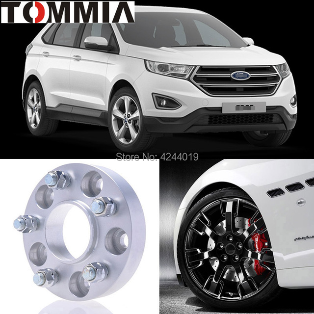 Fits Ford Edge Pcs Wheel Hub Centric Spacers Tire Adapters Rims Flange X  Center Bore  Mm Aluminum