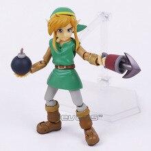 Figura de acción de Link A Link entre Worlds Figma EX 032 / Figma 284, juguete de modelos coleccionables en PVC, 2 tipos