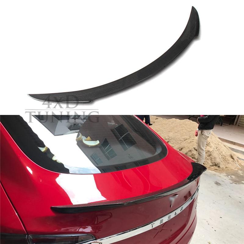 For Tesla Model S 4 Door Carbon Fiber Rear Spoiler Trunk Lid Wing 2012 2013 2014 2015 2016 S Model Spoiler 3 х комнатную квартиру в астане свежие объявления