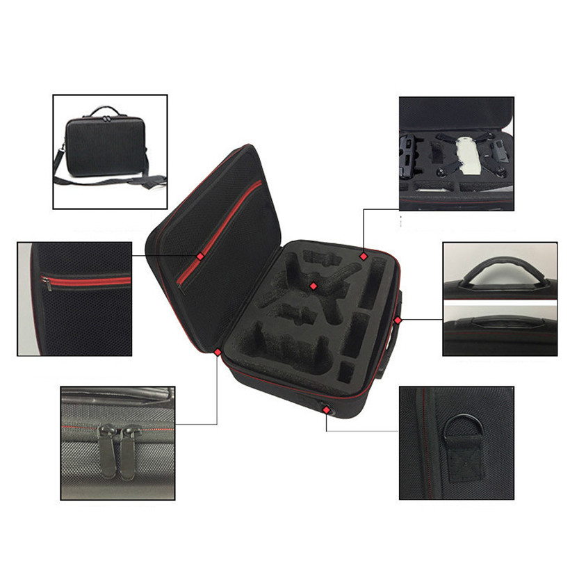 New 2017 EVA Storage Bag Waterproof Case Cover Shoulder for DJI Spark Drone Accessories drop shipping