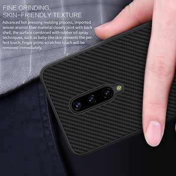 OnePlus 7 Pro case Nillkin Nylon & Synthetic fiber Carbon PP Back Cover one plus 7 pro slim one plus 7 OnePlus 7 Case 6.41/ 6.67