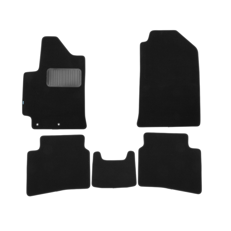 Фото - Carpet mats interior For NISSAN Juke, 2010-2014, 2014-> hook T/L 4 PCs (polyurethane) 4 hook figure rack