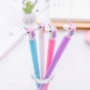Creative Unicorn Flamingos Pen Cute 0.5mm Signature Pen