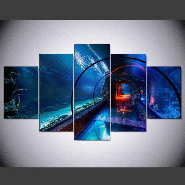 5 Pannello Moderna Las Vegas Hd Stampa Artistica Su Tela Di Arte