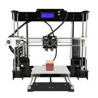 Лидер продаж 3d принтер двойной экструдер двойной цвета печати Prusa i3 с подогревом кровать высокой precisio Бесплатная тестирование нити США