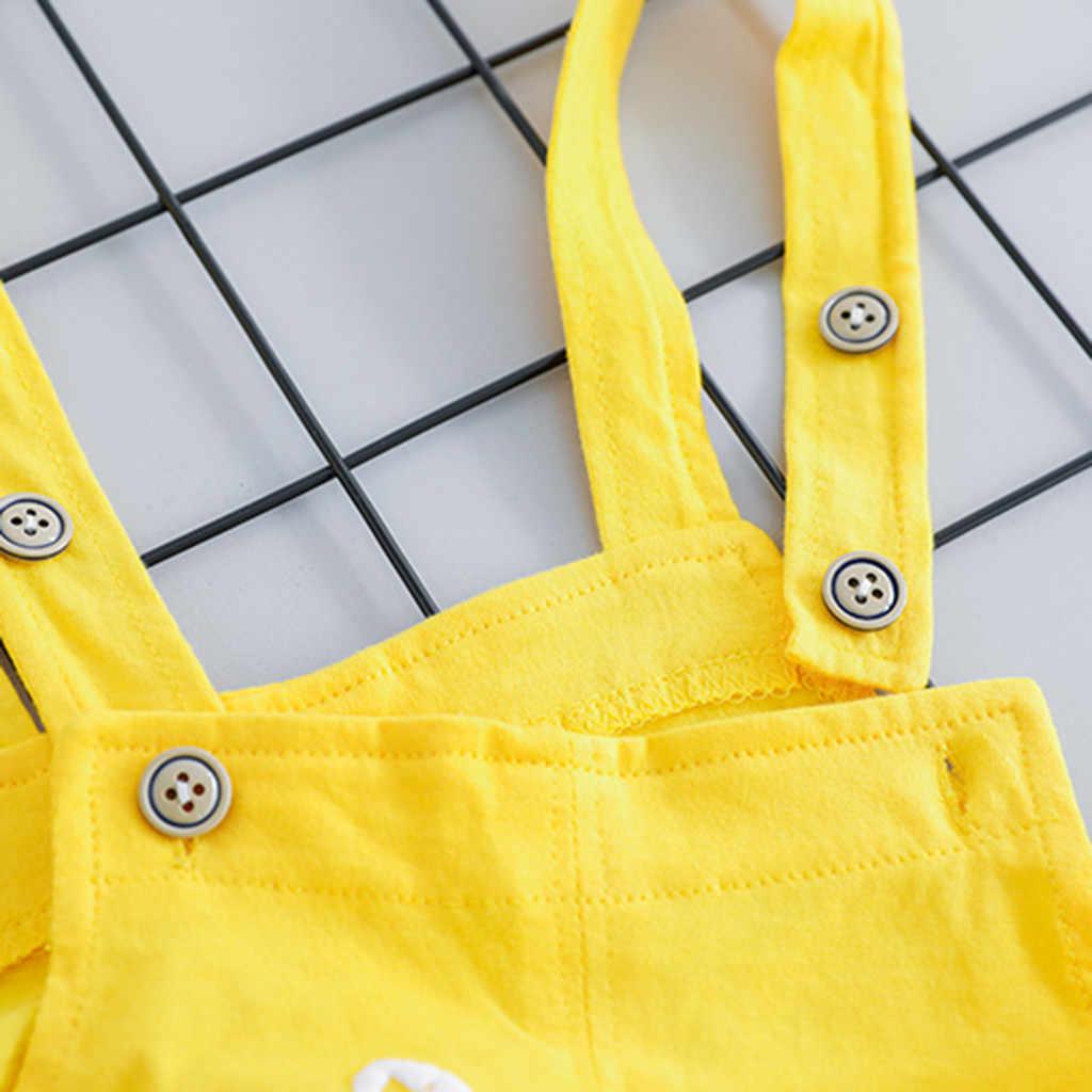 MUQGEW/футболка для маленьких мальчиков и девочек, топы, комбинезон, штаны, комплект повседневной одежды, комплект детской одежды для девочек, ropa de niñas