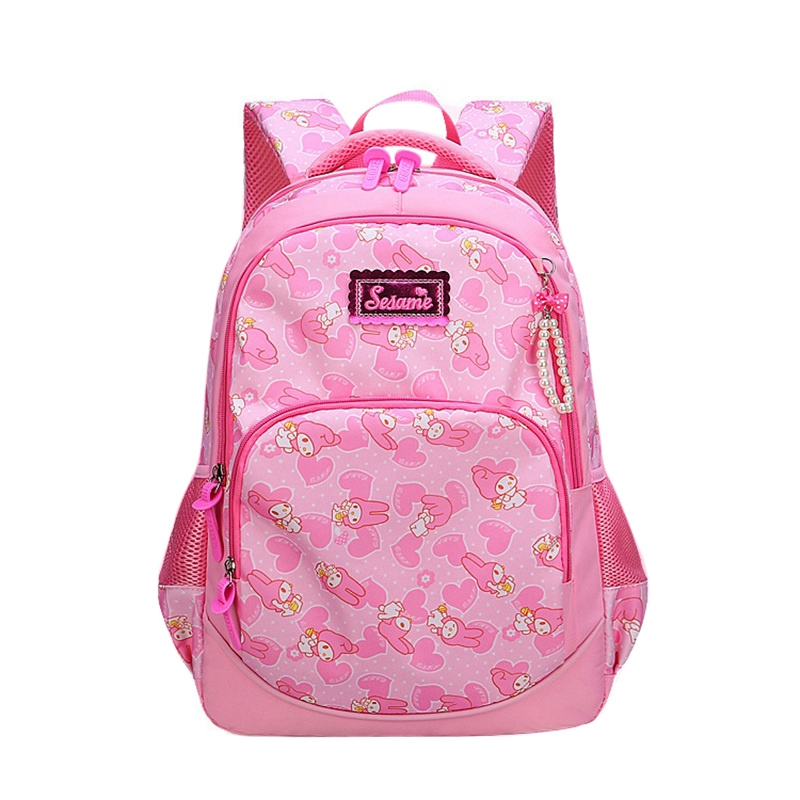 Students Backpacks for Middle School Girls Cute Cartoon Decorations Primary School Stude ...