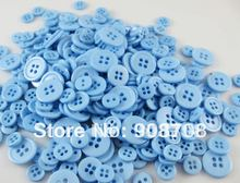400pcs/Package 8.5mm 9mm 11mm 15mm polyester resin button small button fashion buttons red H086