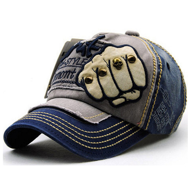 VBOM Unisex Denim Baseball Cap